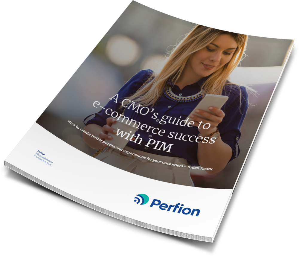White paper: 'A CMO's Guide to Online Store Success Using PIM'.