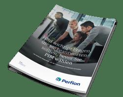 """Whitepaper """"5 wichtige Fragen, die Sie beantworten sollten, bevor Sie ein System für Product Information Management wählen"""""""