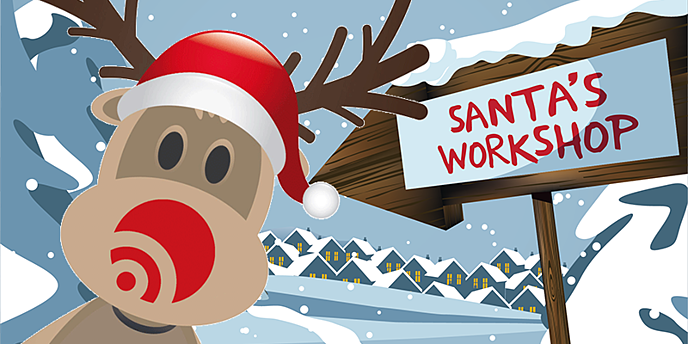 Santa's Well-Kept Secret –  (Shhh! He uses a PIM system)
